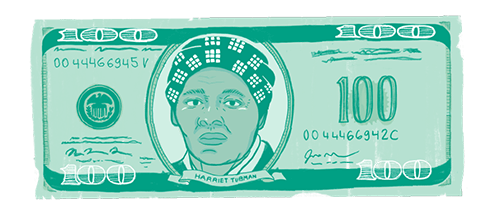 Women on Money Tubman