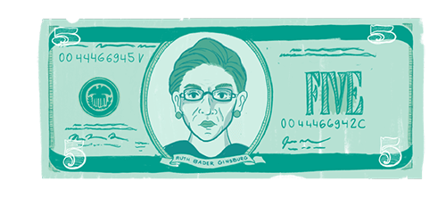 Women on Money RBG