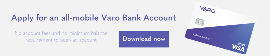 Apply for mobile bank account